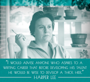 Words of wisdom from Harper Lee. Photo from Buzzfeed